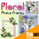 Floral Photo Frames - GraphicRiver Item for Sale