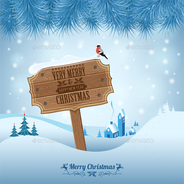 GraphicRiver Christmas Background 9622999