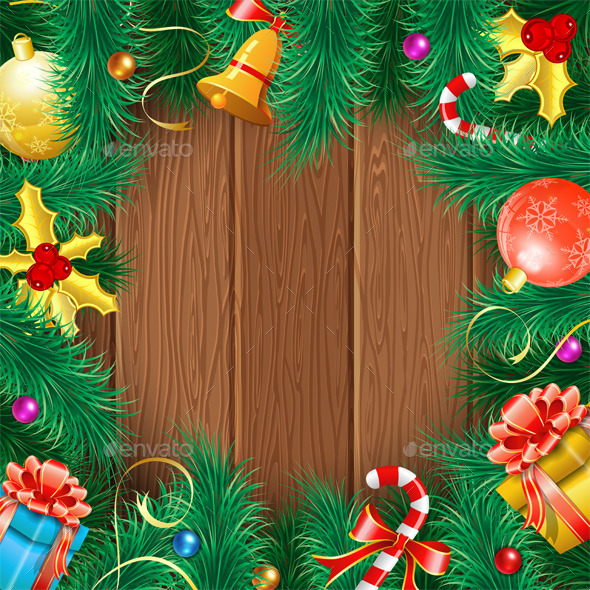 GraphicRiver Christmas Frame 9623004