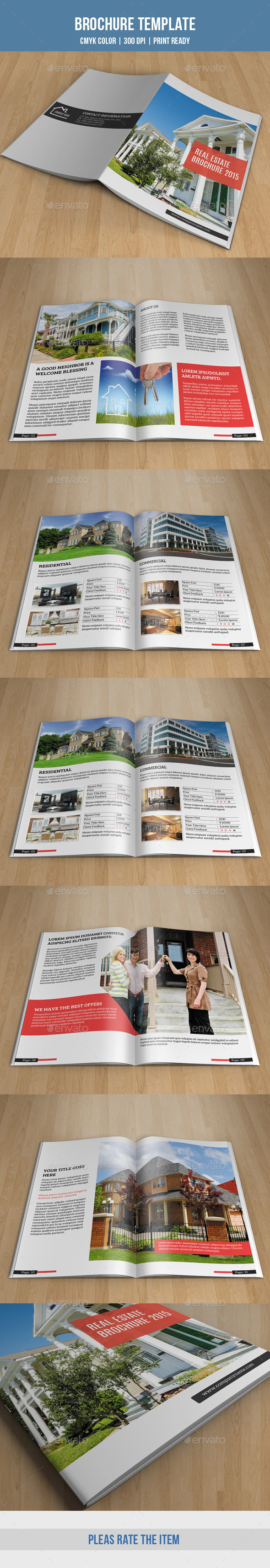 GraphicRiver Real Estate Bifold Brochure-V164 9623230