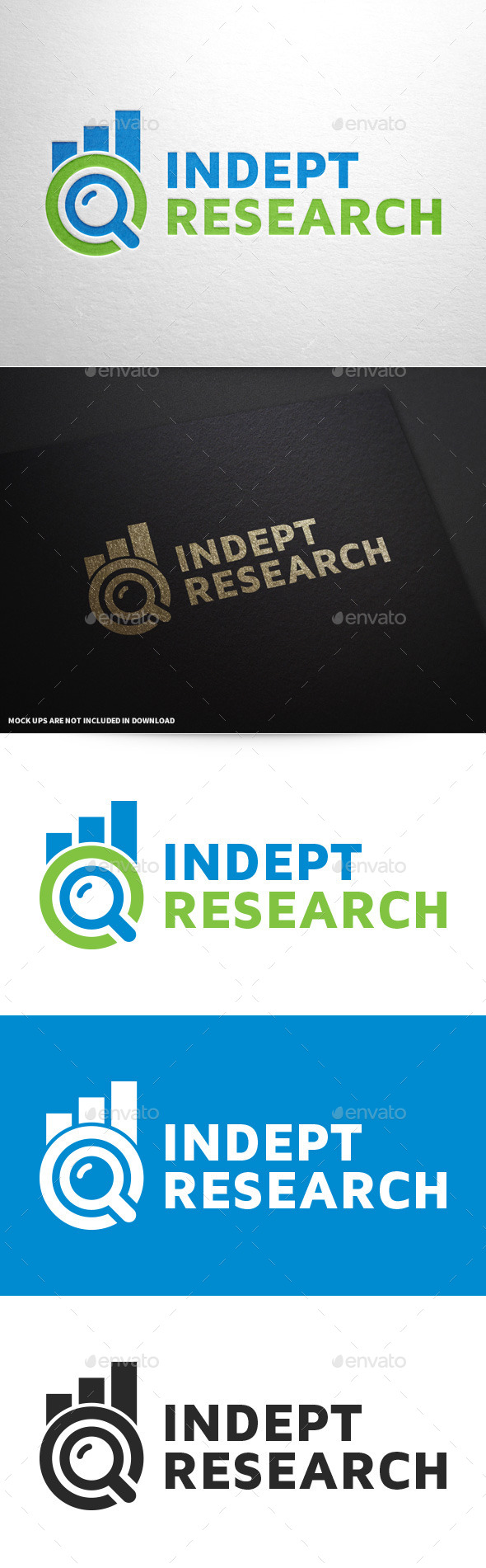 GraphicRiver Indept Research Logo 9624416