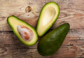 Green Avocado on Wood - PhotoDune Item for Sale