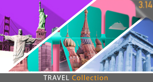World Travel - Flat Design - 4