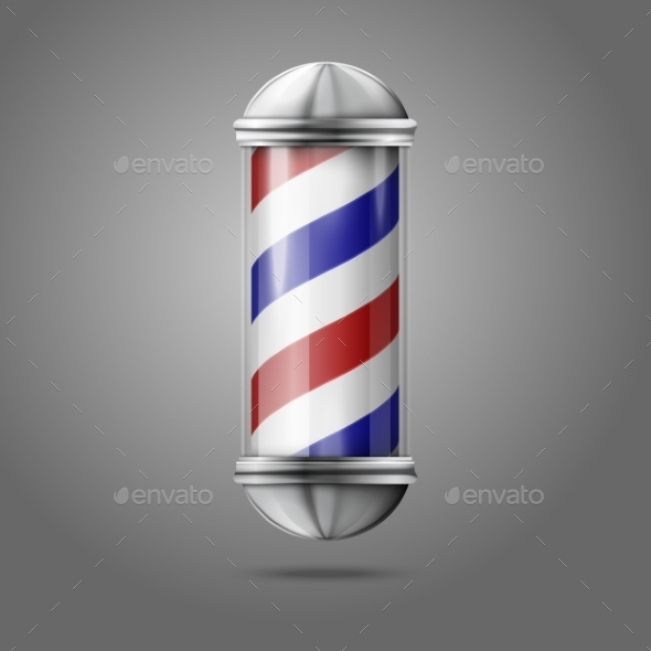 GraphicRiver Old Fashioned Barber Shop 9624637