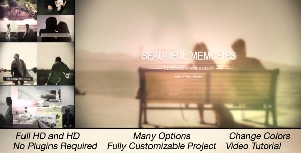 Beautiful Memories Multi Purpose Slideshow