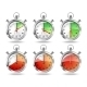 Set of Silver Bright Stopwatch Clock Intervals