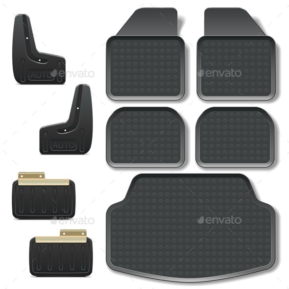 GraphicRiver Car Mats Set 9624767