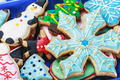 homemade Christmas gingerbread cookies - PhotoDune Item for Sale