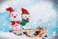 snowman and Santa toy - PhotoDune Item for Sale
