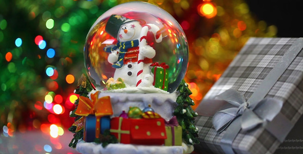 Snowman Sphere 6
