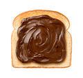 Chocolate Spread on Toast - PhotoDune Item for Sale