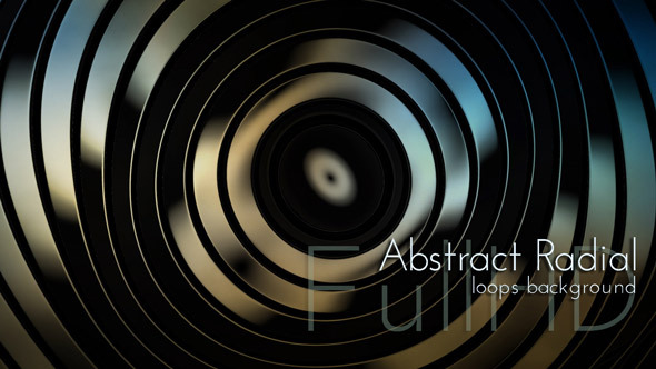 VideoHive Radial Circles Animation 9625203