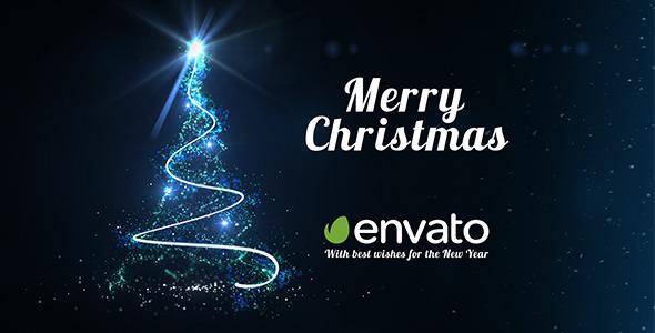 Light Tree - Christmas Greetings