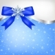 Diamond Snowflake with Bow - GraphicRiver Item for Sale