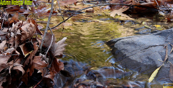 VideoHive Autumn Waterfall Water 9625836