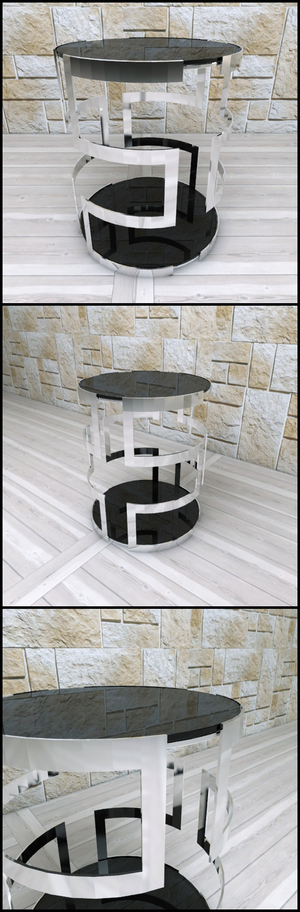 3DOcean Andrew Martin Visconti Side Table 9625849