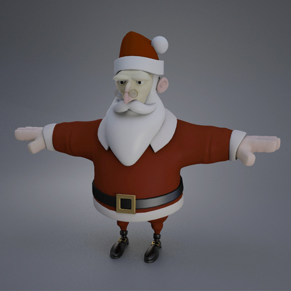 3DOcean Santa 9626026