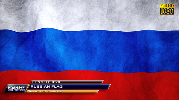 VideoHive Russian Flag 9626038
