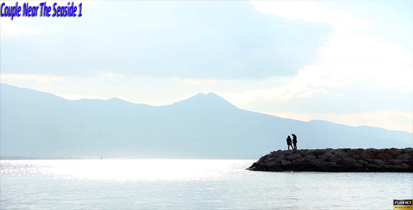 Couple Near The Seaside 1