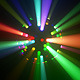 Colorful LED Disco Ball Light Rays VJ Loop