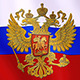 Russian Flag With Eagle - VideoHive Item for Sale