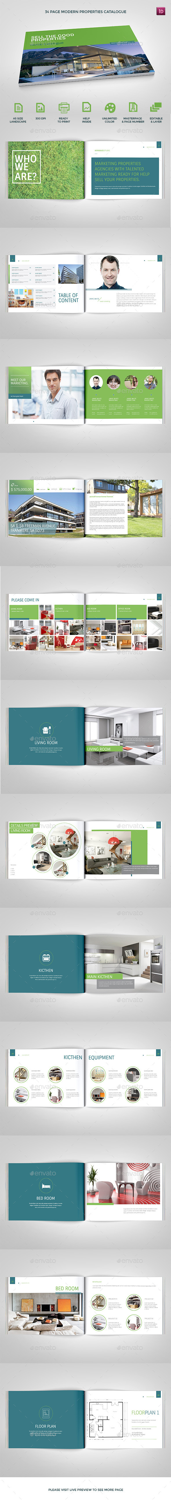 GraphicRiver Modern Properties Catalogs 9626641