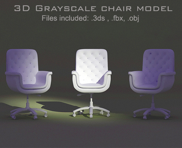 3DOcean Modern Chair model 9626913