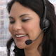 Laughing Customer Service Representative - VideoHive Item for Sale