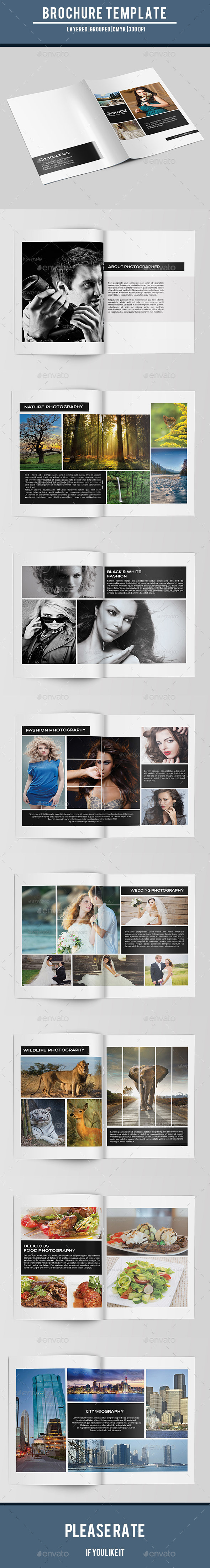 GraphicRiver Bifold Photography Brochure-V165 9627783