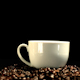 Sugar Cube Falling In Coffee Cup And Splashing - VideoHive Item for Sale