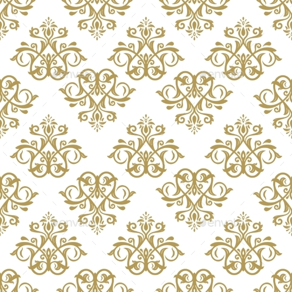 GraphicRiver Damask Seamless Vector Pattern 9628018