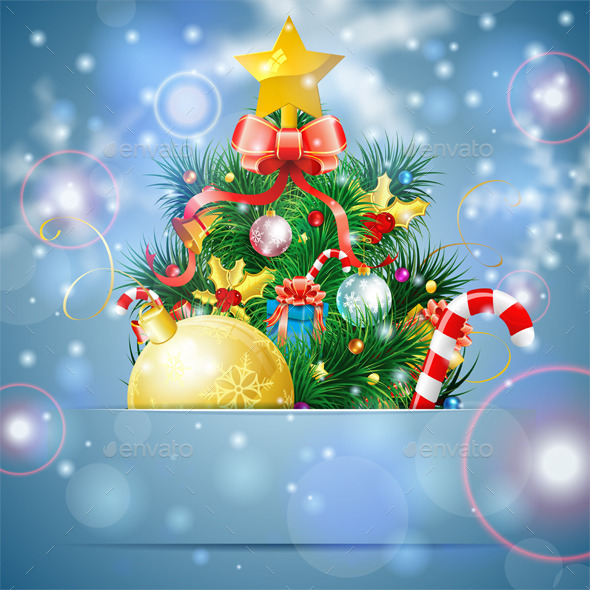 GraphicRiver Christmas Tree 9628582
