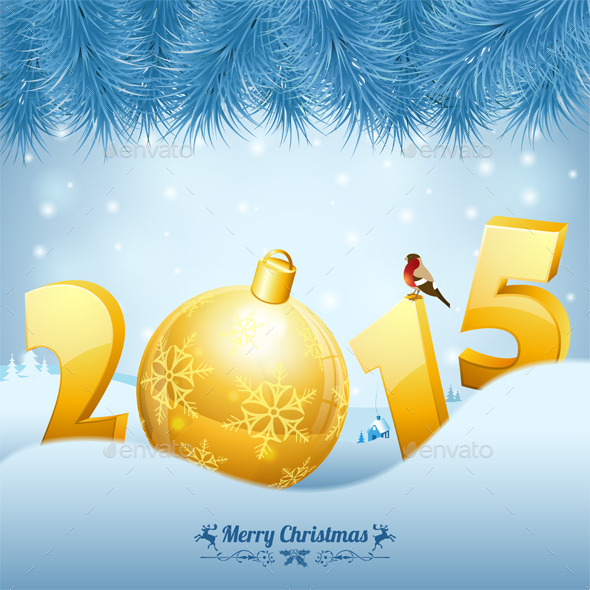 GraphicRiver New Year Background 9628584