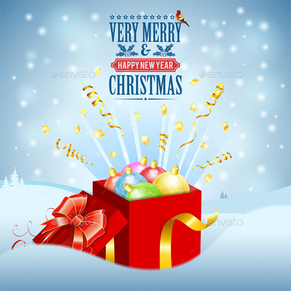 GraphicRiver Christmas Gift 9628598