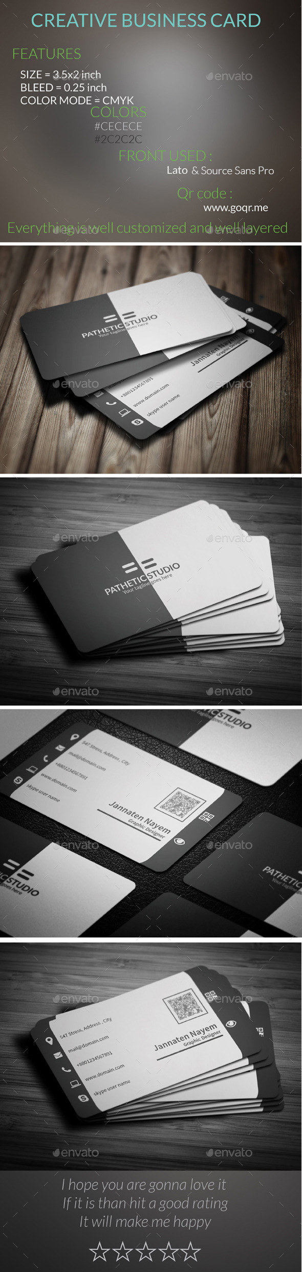 GraphicRiver Creative Business Card 9587465