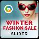 Winter Fashion Slider - GraphicRiver Item for Sale