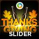 Thanksgiving Slider - GraphicRiver Item for Sale