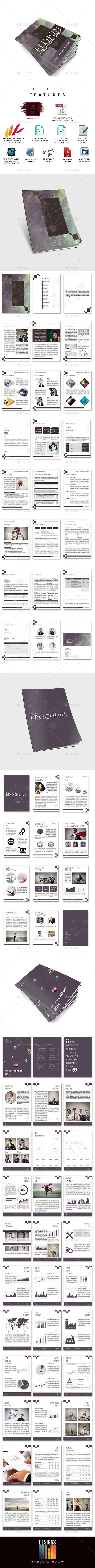 GraphicRiver Elision Indesign Multi Business Proposals Bundle 9582580