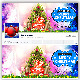 Merry Christmas Facebook Cover v-1 - GraphicRiver Item for Sale