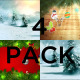 Christmas Background Pack Vol 2 - VideoHive Item for Sale