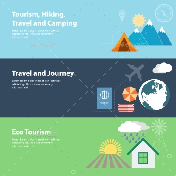 GraphicRiver Tourism Concepts 9629020