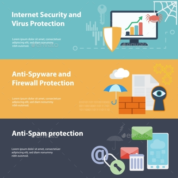 GraphicRiver Hacking Virus Protection Concepts 9629054