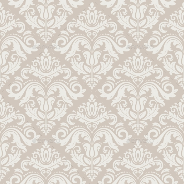 GraphicRiver Damask Seamless Vector Pattern 9629062