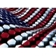 Glossy Abstract Background from Hexagons with USA - GraphicRiver Item for Sale
