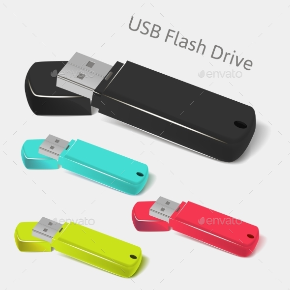 GraphicRiver Universal Flash Drive 9629525