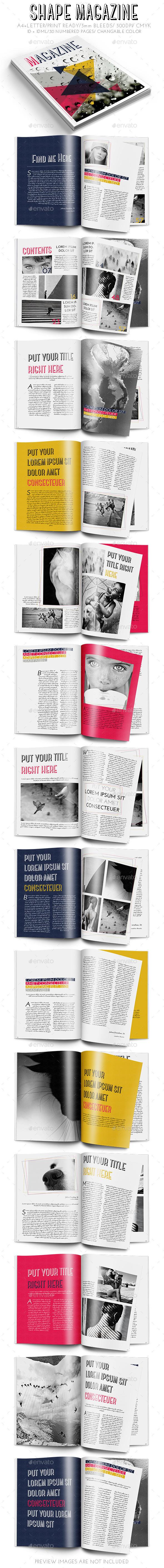 GraphicRiver Shape Magazine 9629787