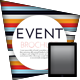 Tablet Event Template - GraphicRiver Item for Sale