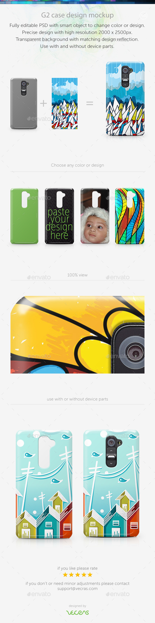 GraphicRiver G2 Case Design Mockup 9630276