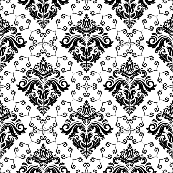 GraphicRiver Orient Seamless Vector Pattern 9630303