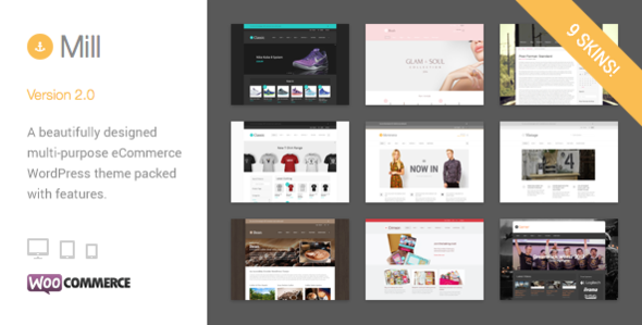 Mill Modern WooCommerce Theme aka Mommerce